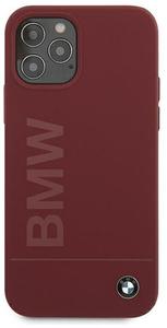 Чехол накладка BMW для Apple iPhone 12/12 Pro красный