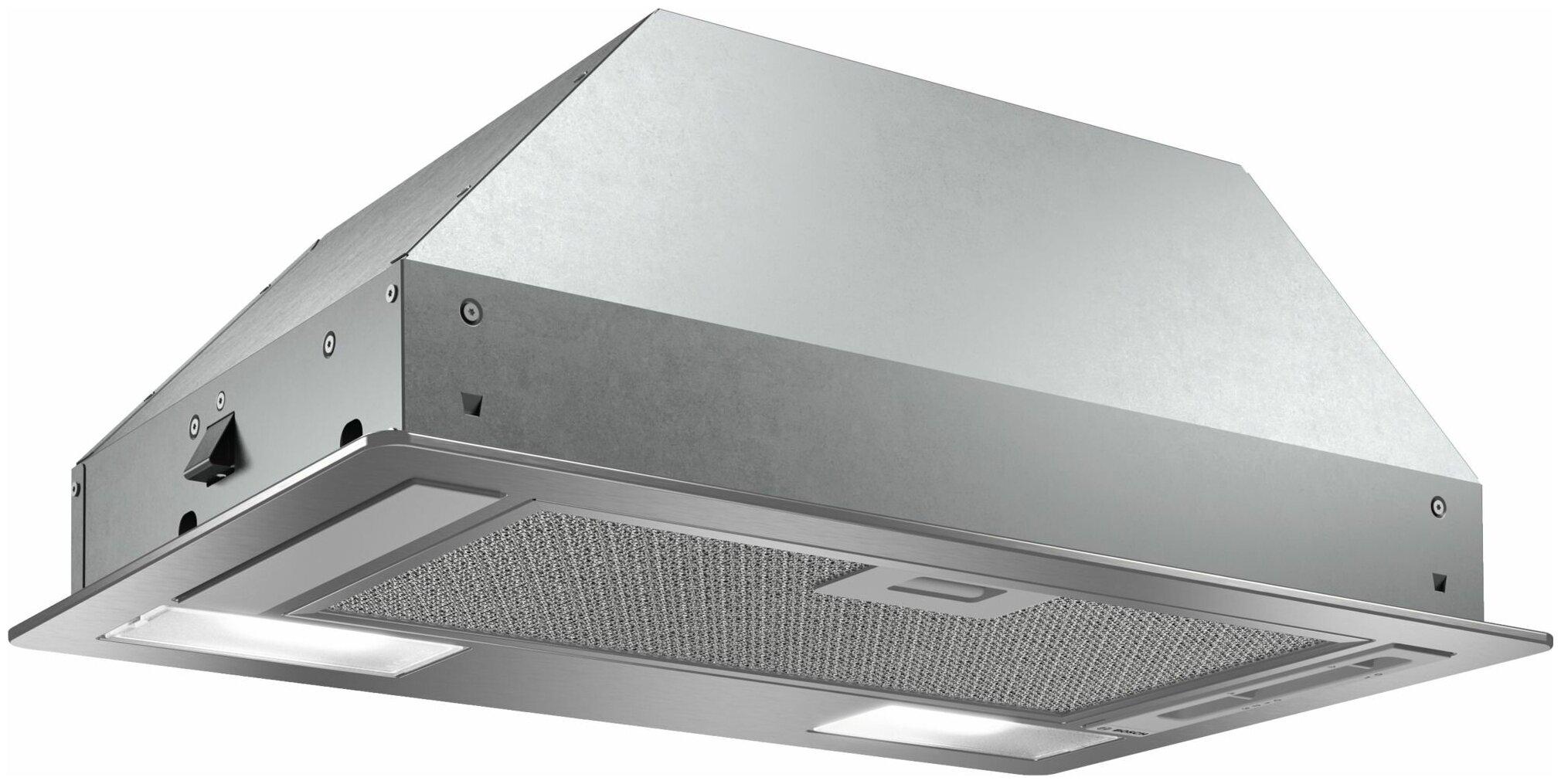 Вытяжка Bosch DLN53AA50 серебристый