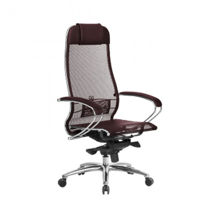 Кресло офисное Samurai S-1.04 бордовый