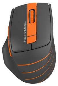 Мышь беспроводная A4Tech Fstyler FG30 оранжевый