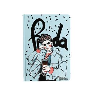 Скетчбук в твердой обложке Frida, А5, 80 л., 100 г/м2