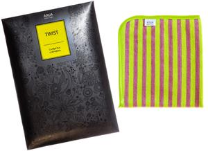 Салфетка «Скрабер» AQUAmagic TWIST двухсторонняя против сложных загрязнений 32 х 30 см