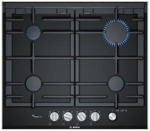 Газовая варочная панель Bosch PRP6A6N70R черный