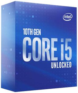 Процессор Intel Core i5-10600KF (без кулера) BOX
