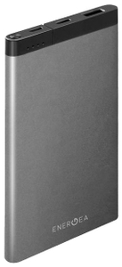 Портативное ЗУ EnergEA АКБ Alupac 10000 mAh серый