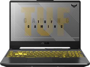 Ноутбук игровой Asus TUF Gaming FX506LI (90NR03T1-M01680) серый