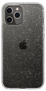 Чехол Spigen Liquid Crystal Glitter, clear-iPhone 12/ iPhone 12 Pro