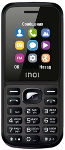 Сотовый телефон INOI 105 черный