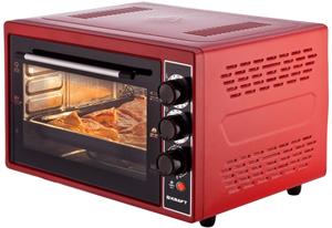 Мини-печь Kraft KF-MO 4506 R красный