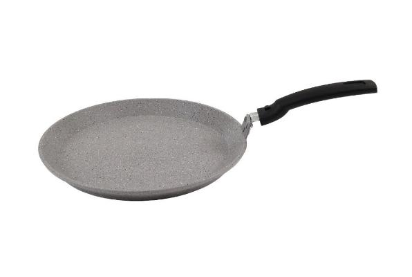 Сковорода блинная Кукмара 200мм АП (светлый мрамор)