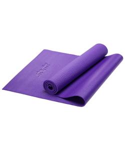 Коврик для йоги STARFIT FM-101 PVC 173x61x0,6 см, фиолетовый 1/16