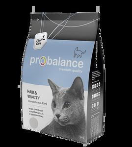 "Сухой корм для кошек ProBalance ""Hair & Beauty"" 16 шт. х 400 г"