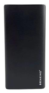 Портативное ЗУ Breaking P203 10000 mAh черный