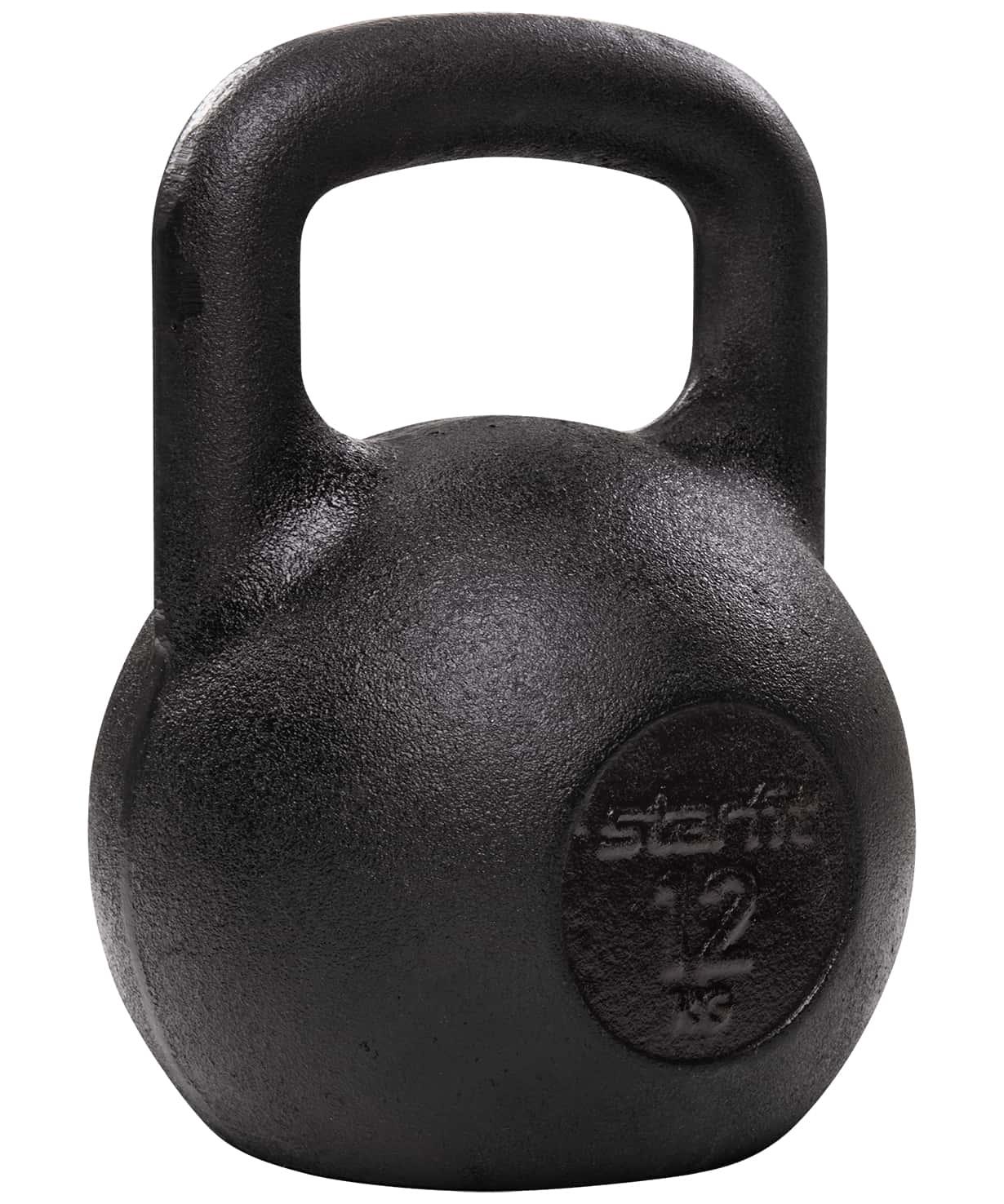 Гиря чугунная DB-602, 12 кг