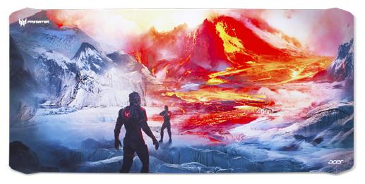 Коврик для мыши Acer Predator Magma Battle