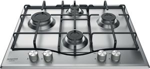 Газовая варочная панель Hotpoint-Ariston PCN 642 IX/HA RU серебристый