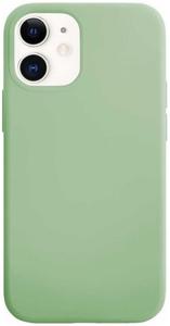 Чехол защитный «vlp» Silicone Сase для iPhone 12 mini, светло-зеленый