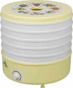 Сушка для фруктов и овощей Ротор Дива СШ-007 5под. 520Вт белый