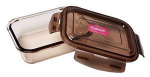 Контейнер Fissman 6526 22x16x7см коричневый