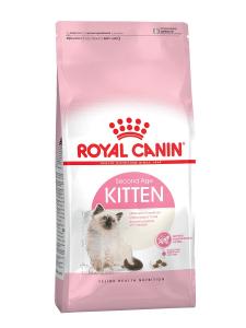 Royal Canin Kitten сухой корм для котят в возрасте до 12 месяцев, 2 кг