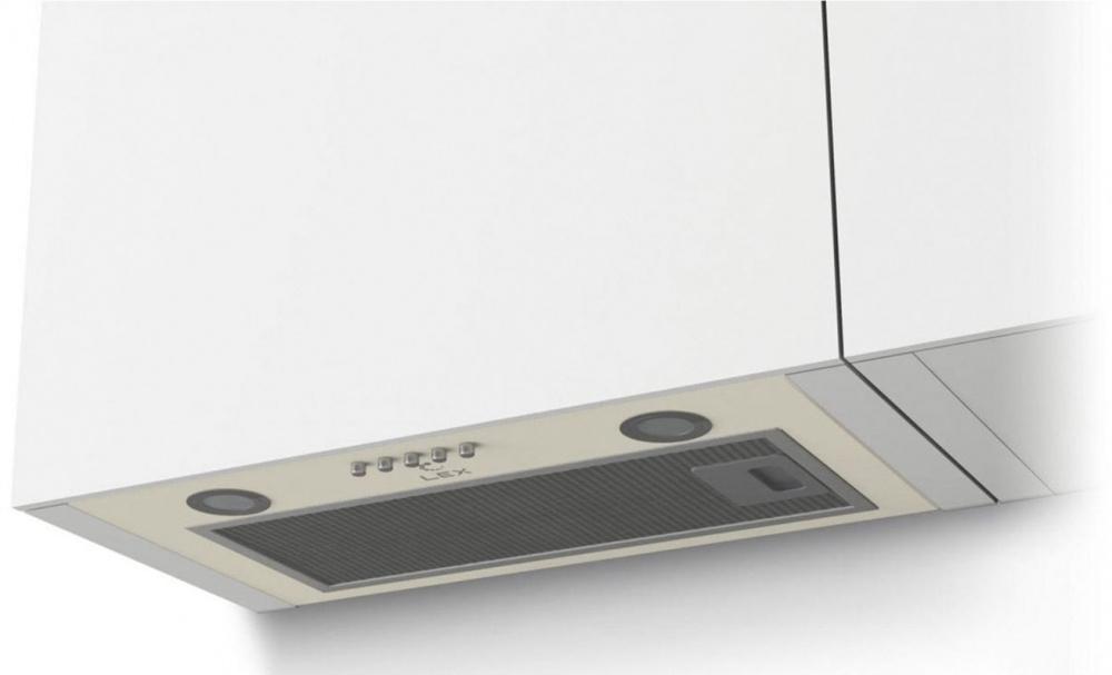 Вытяжка встраиваемая LEX GS Bloc P 600 IV Light белый
