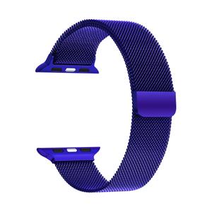 Ремешок из нержавеющей стали для Apple Watch 42/44 mm LYAMBDA CAPELLA DS-APM02-44-BL Blue