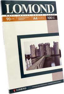 LOMOND 0102001 (A4, 100 листов, 90 г/м2)  бумага матовая односторонняя