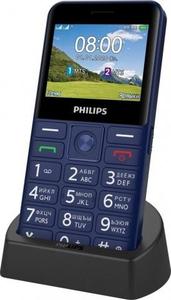 Сотовый телефон Philips Xenium E207 синий