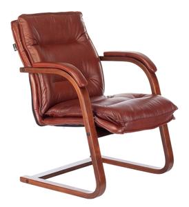 Кресло офисное Бюрократ T-9927WALNUT-AV коричневый