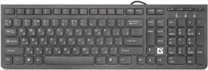 Клавиатура проводная Defender UltraMate SM-530 черный