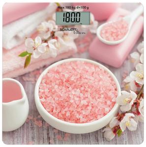 Весы напольные Scarlett SC-BS33E062 розовый