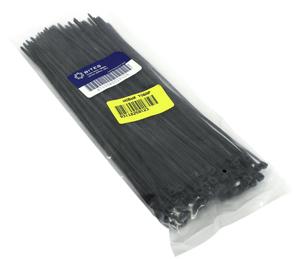 Стяжка нейлоновая, неоткрыв. 5bites < CV-200BK > , чёрные, 200 мм, уп-ка 100 шт