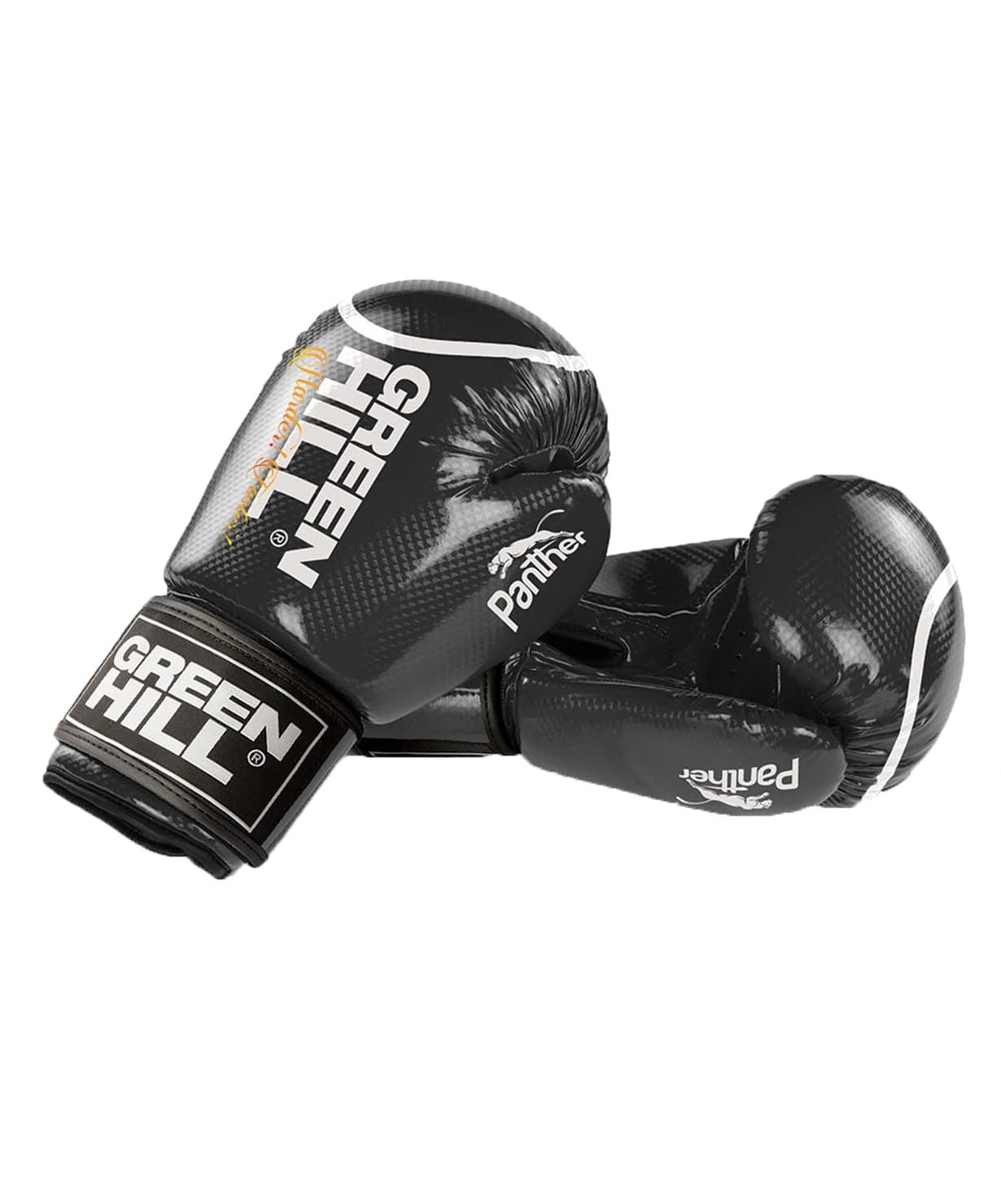 Перчатки боксерские Panther BGP-2098, 10 oz, черный