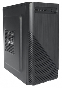 Корпус HIPER Office ST-5001 (mATX, w/o PSU, USB+audio) BLACK, Не работает 1 USB