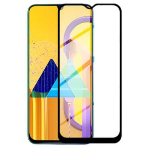 Стекло защитное Breaking Full Glue для Samsung Galaxy M31 (Black)
