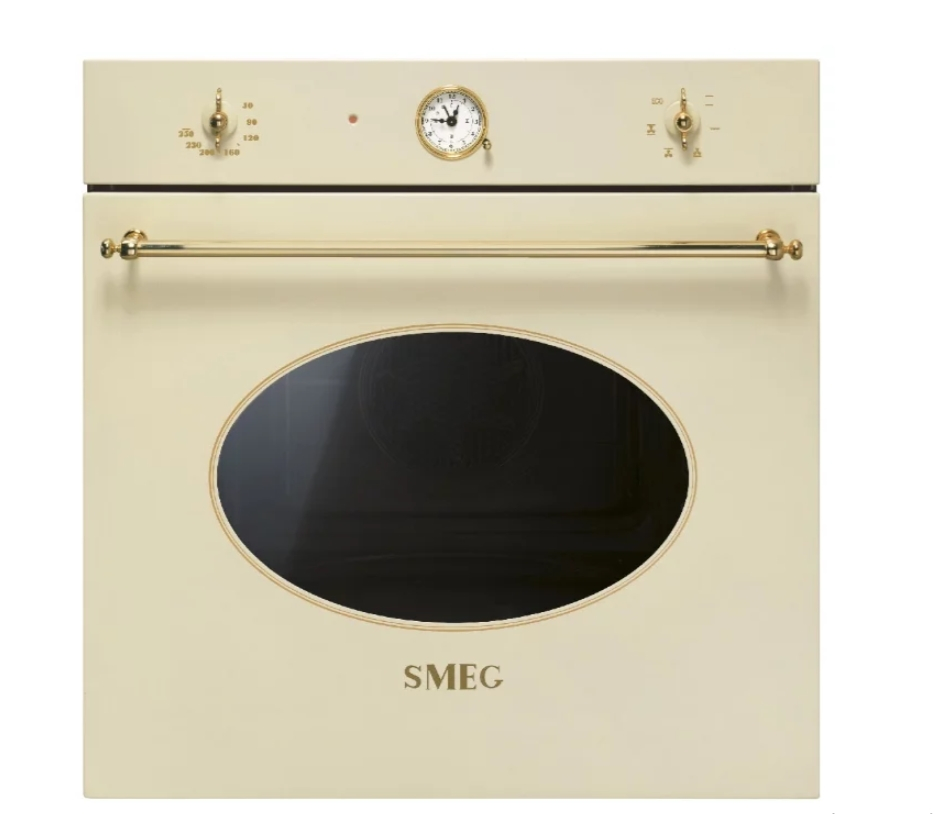 Духовой шкаф SMEG SF800P бежевый