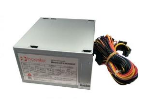 Блок питания BOOSTER 500W (ATX-500W8F) 24pin,2 х sata,2 х ide,1 х Fdd,1 х P6,8cm cooling fan, после ремонта