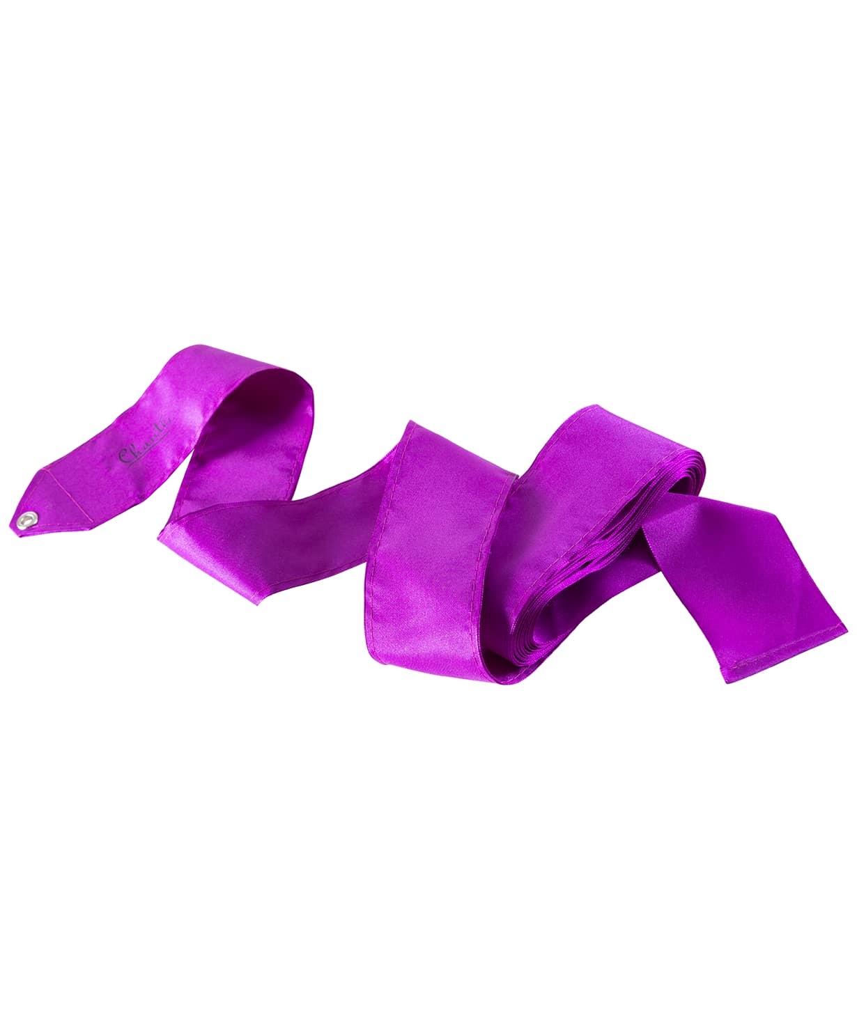 Лента для художественной гимнастики Voyage, 4 м, фиолетовая