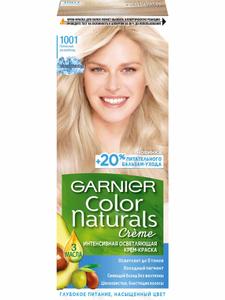 Краска для волос Color Naturals №1001 П. УльтраБлонд Garnier