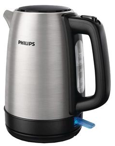 Чайник электрический Philips HD9350/91 серебристый