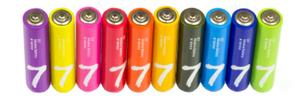 Батарейка ААА Xiaomi Rainbow Zl7 LR03 (10шт)