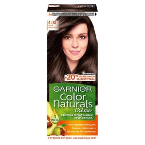 Краска для волос Color Naturals 4.00 Глубокий тёмно-каштановый Garnier