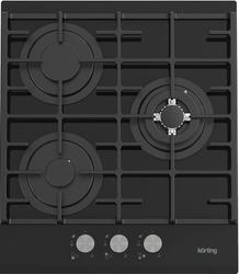 Газовая варочная панель Korting HGG 4825 CTN черный