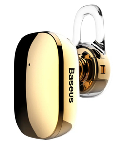 Bluetooth-гарнитура Baseus Encok Mini A02 золотой