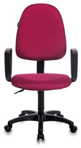 Кресло офисное Бюрократ CH-1300N бордовый