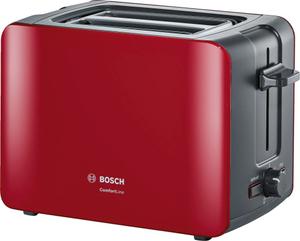 Тостер Bosch TAT6A114 красный