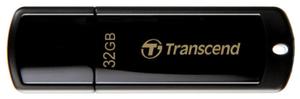 Флэш-накопитель Transcend <TS32GJF350> JetFlash 350 32 Гб черный, серебристый