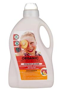 Кондиционер-ополаскиватель для белья с органическим персиком 1500мл Organic People