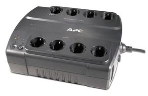 UPS 700VA Back ES APC <BE700G-RS>, защита телефонной линии, USB