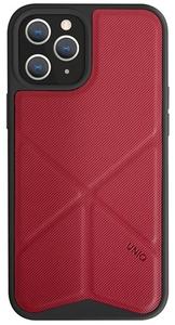 Чехол накладка Uniq для Apple iPhone 12/12 Pro красный